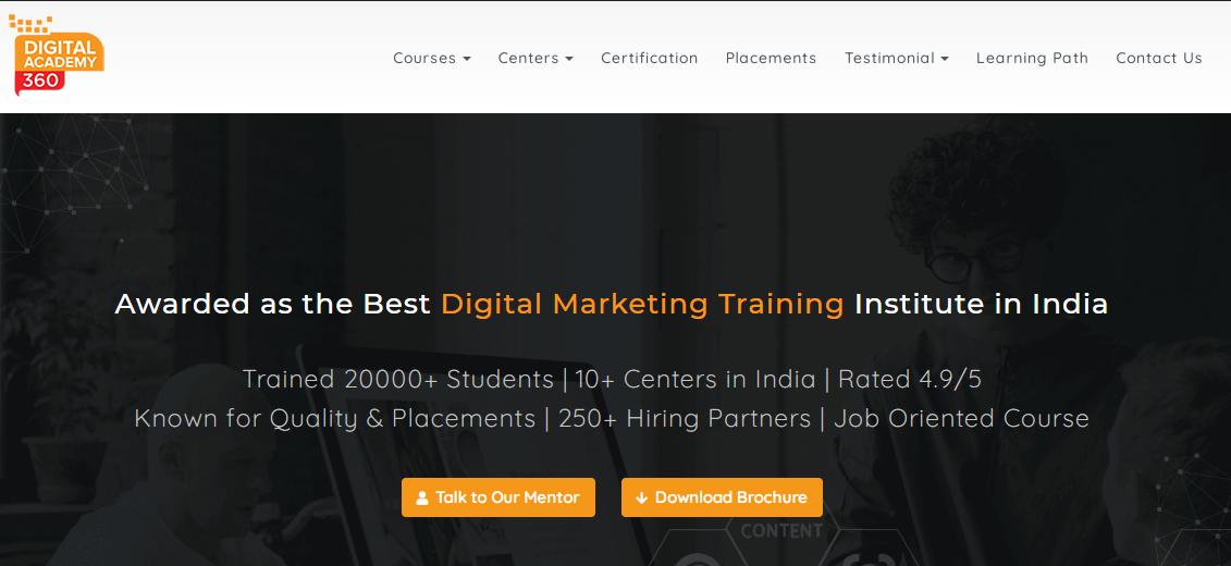 digital academy 360 in chennai