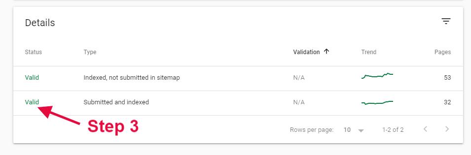 search.google.com step 3
